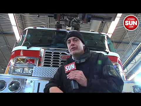 Ottawa Fire Services deal with cold