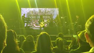 Sons of Apollo - Lines in the Sand (Live on Cruise to the Edge 2018)