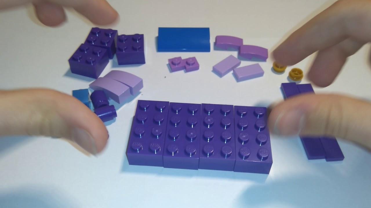 Lego Friends Mój Pomysł Jak Zbudować Kanapę Youtube