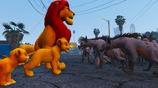 the lion king mufasa Helping the police