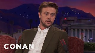Boyd Holbrook Got Hit By An Ambulance  - CONAN on TBS