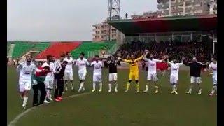 Amedspor-Fenerbahçe maçı öncesi Şenlik(halay)