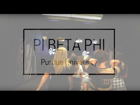 Pi Beta Phi - Purdue University 2016