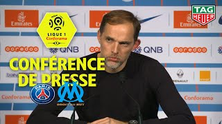 Conférence de presse Paris Saint-Germain - Olympique de Marseille (3-1) / 2018-19