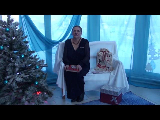 Изображение предпросмотра прочтения – МарияБережная читает произведение «Зима недаром злится...» Ф.И.Тютчева