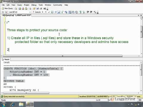How to Encrypt Your Source Code in SQL Server