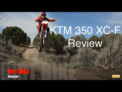 ktm 350 xc-f review - youtube