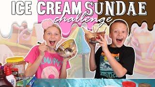 Ice Cream Sundae Challenge!!