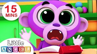 No No,  Good Manners at School | Baby Monkey | Kids Songs and Nursery Rhymes by Little Angel
