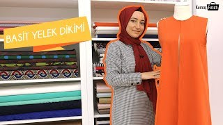 Yeni Başlayanlar için Basit Yelek Dikimi Nebihan Akça - Easy Vest Sewing for Beginners Nebihan Akça