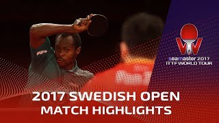 2017 Swedish Open Highlights: Fan Zhendong vs Aruna Quadri (1/4)