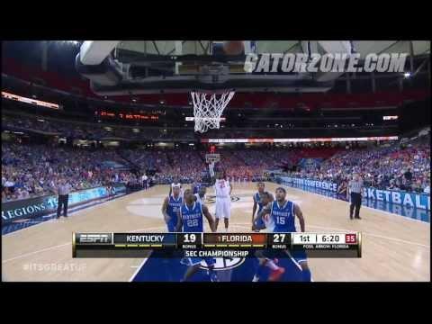 Florida Basketball: SEC Tournament Championship Highlights 3-16-14