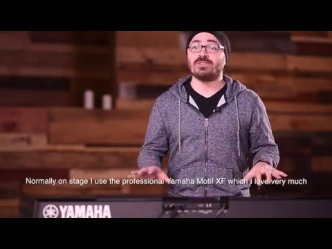 Yamaha PSR-EW400 Portable Keyboard Introduction by Sergio Gonzalez (Subtitled: English)