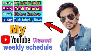 Youtube Scheduled On My Channel | How To Schedule Your YouTube Videos.