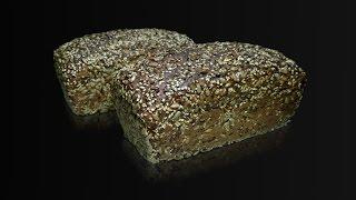 Немецкий ржаной хлеб с семечками