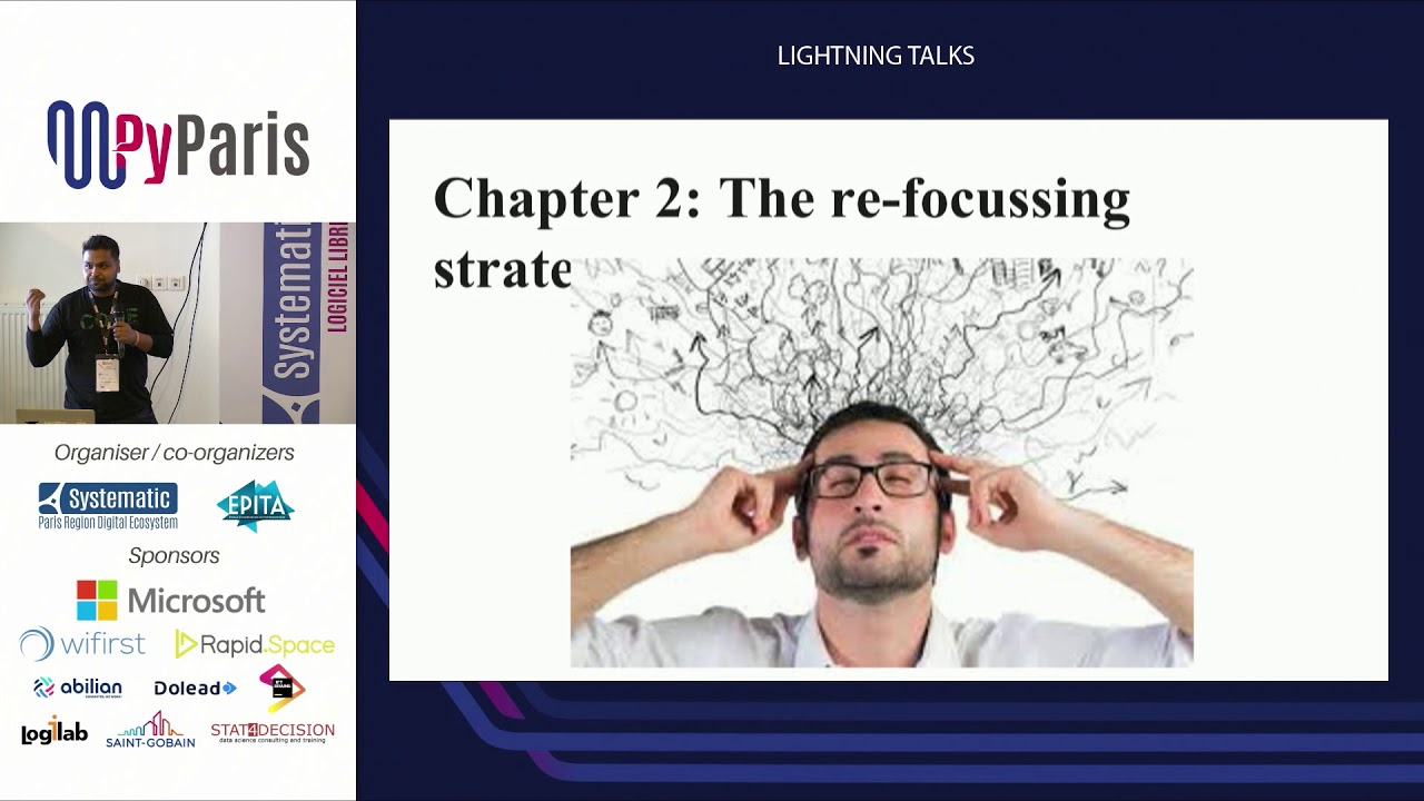 Image from PyParis 2018 - Lightning talks