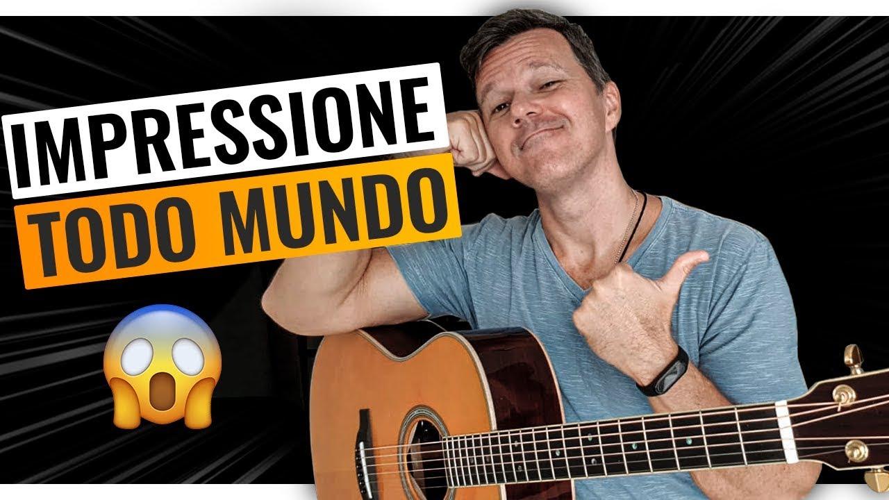 Use esses 2 TRUQUES SIMPLES para impressionar no violão!! ????????