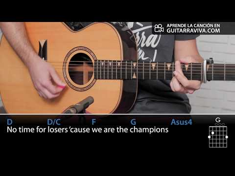 We Are The Champions | Guitar Cover  Guitarraviva