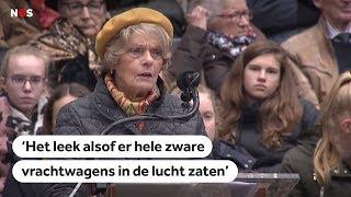 HERDENKING: Addy verloor 75 jaar geleden haar broertje bij het bombardement in Nijmegen