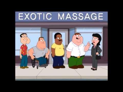 Family Guy - Exotic Massage