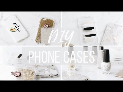DIY TUMBLR PHONE CASES |  Marble + Minimalist