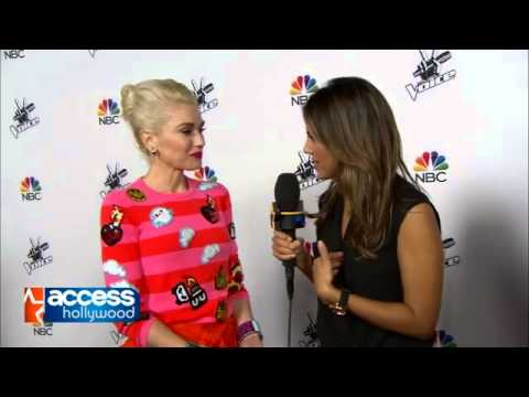 Gwen Stefani on The Voice Season 7 Event Red Carpet, December 8, 2014