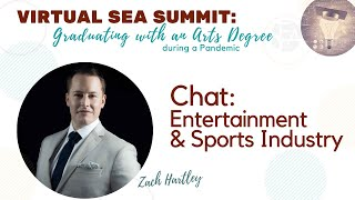 Chat with agent Zach Hartley on the Entertainment Industry