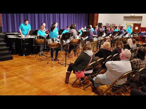"""""""Sarah"""" by Len """"Boogsie"""" Sharpe Performed by the Purcell Marian High School Cavalier Steel Drum"""