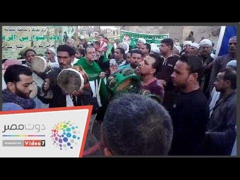 انطلاق موكب الصوفية بمسجد صالح الجعفرى احتفالا بالمولد النبوى  - نشر قبل 3 ساعة