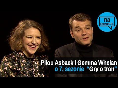 Pilou Asbaek i Gemma Whelan opowiadają o 7. sezonie Gry o tron
