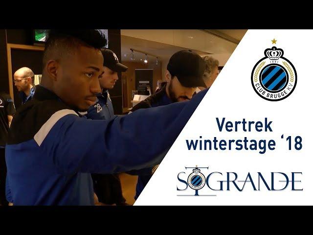 Winterstage 2018 | Vertrek