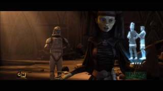"Preview Clip from Clone Wars Episode 2.7 ""Legacy of Terror"""