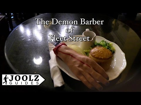 Sweeney Todd the demon barber of Fleet St. - TOP 50 THINGS TO DO IN LONDON - London Guide