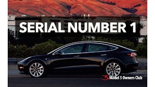 Serial Number 1 is here!!!  | Model 3 Owners Club