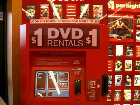 Redbox Movie Rental - Online Rental Pickup