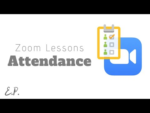 How to Take Class Attendance In Zoom