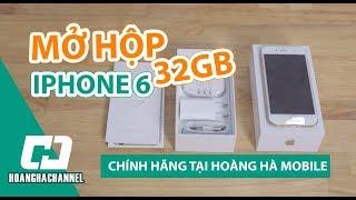 Iphone 6 32GB chính hãng tại Hoàng Hà Mobile - Sản phẩm hot không thể bỏ qua!