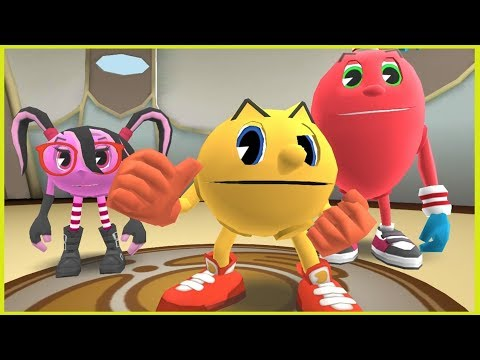 Pac-Man And The Ghostly Adventures 3DS Walkthrough - Gameplay Part 1 - Pacopolis City