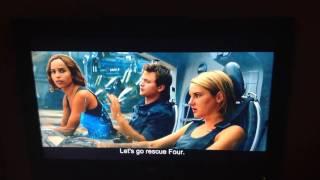 The Divergent Series: Allegiant- Tris steals aircraft scene