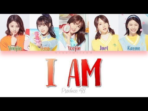 [PRODUCE 48] 1AM (새벽 한 시) - I AM [HAN|ROM|ENG Color Coded Lyrics]