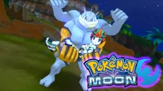 Pokemon Moon Ep. 19 - I Married a Machamp Apparently