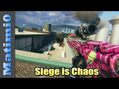 Siege is Chaos - Rainbow Six Siege