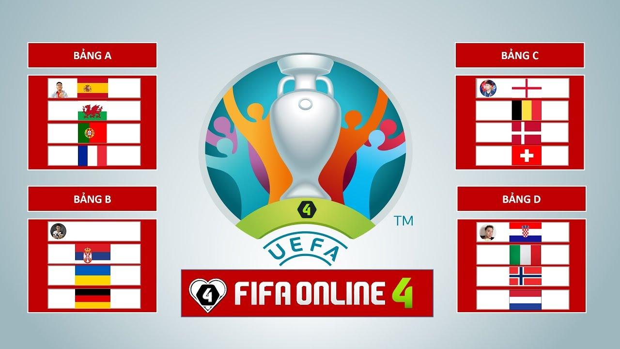FIFA ONLINE 4: TRỰC TIẾP VÒNG CHUNG KẾT EURO ĐẠI CHIẾN 2020 NGÀY #4: VKQ RA TRẬN
