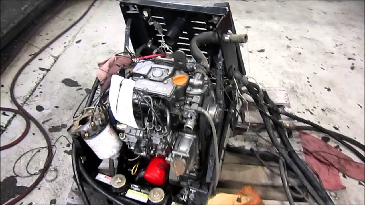 Ingersoll Rand TK270M Diesel Engine Running APU  YouTube