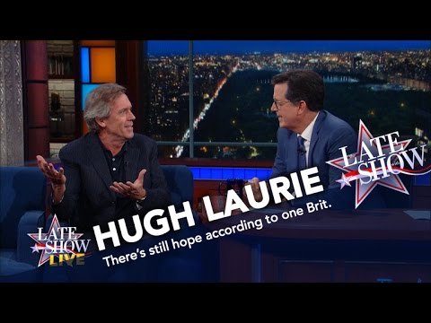 Thumbnail: Hugh Laurie Tells Americans What They Should Really Be Worried About