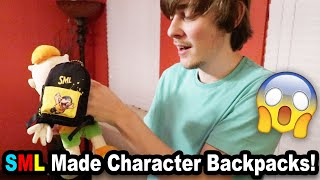 SML Made Character Backpacks!