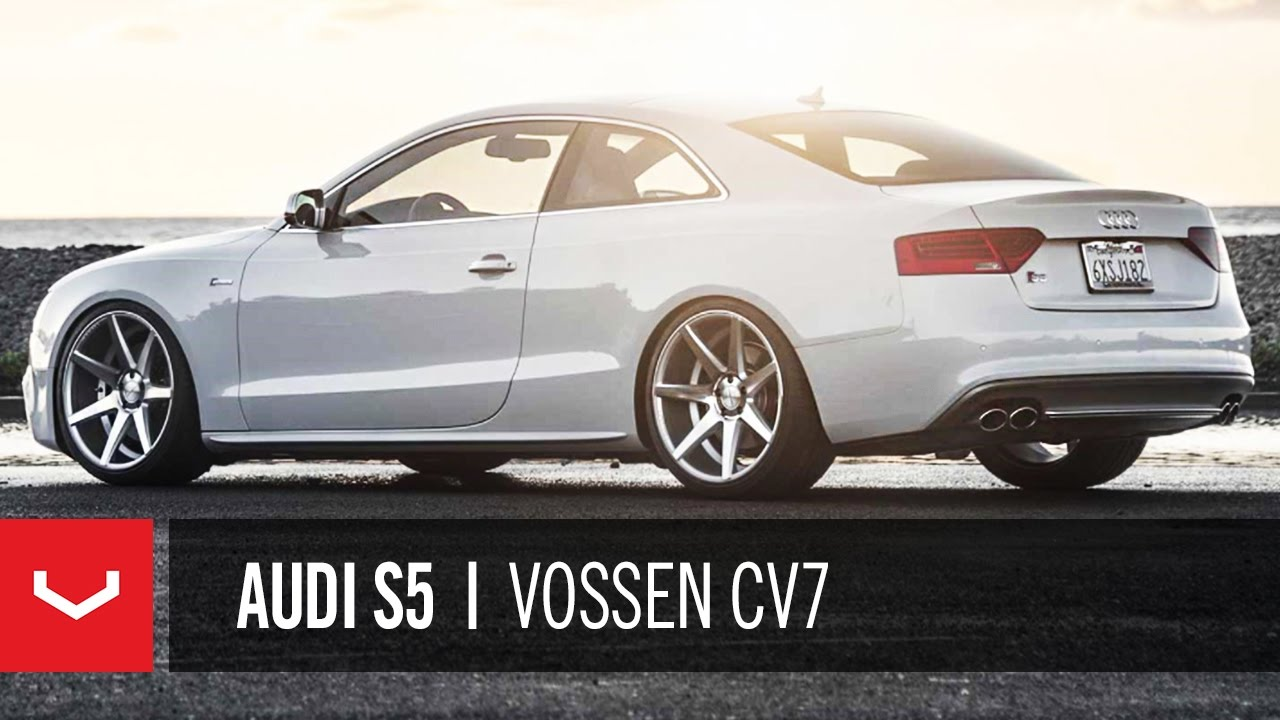 Audi S5 For Sale Craigslist >> Audi S5 on 20'' Vossen VVS-CV7 Concave Wheels | Rims - YouTube