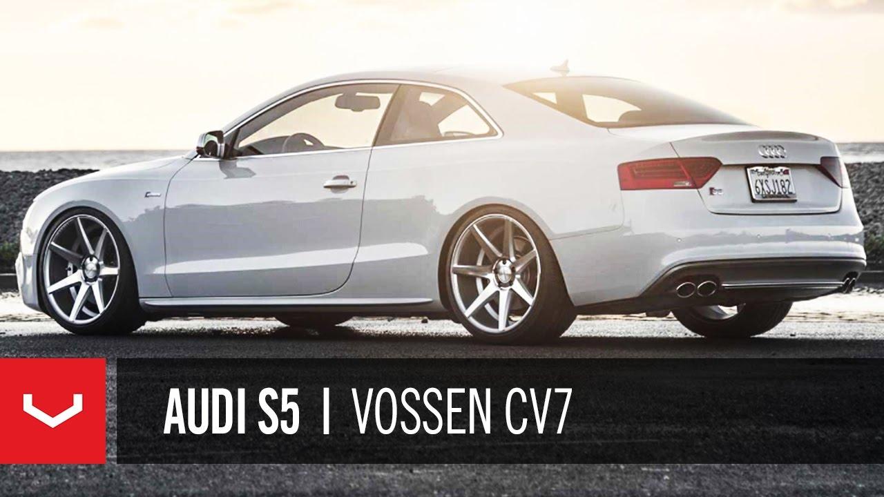 Audi S5 on 20'' Vossen VVS-CV7 Concave Wheels | Rims