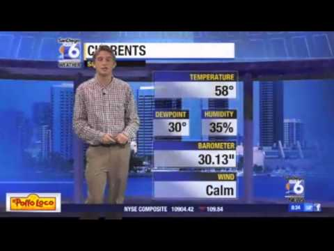 Chad Crilley weather reel