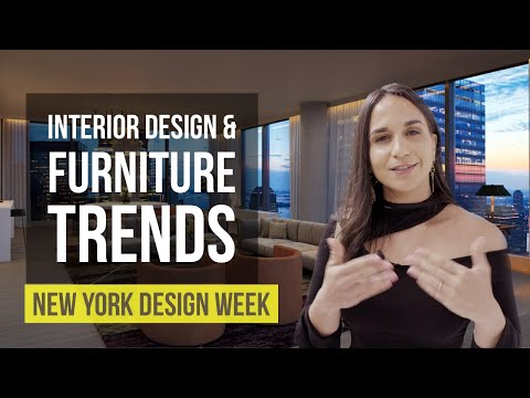 Interior Design & Furniture Trends | New York Design Week Highlights | Home Design Ideas